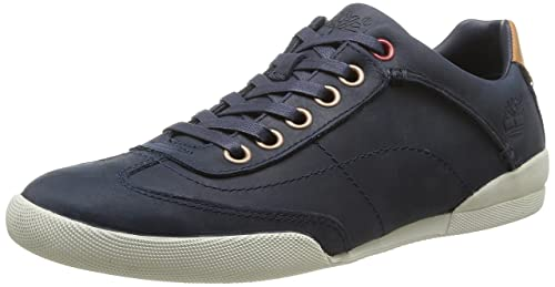 Timberland Ek Split Cup Sole Ftm Butt Seam, Men Oxford, Blue (Navy Oiled