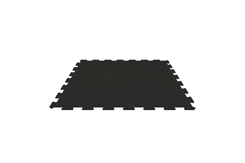 X2. CRF-P3–6Puzzle Tapis je 600x 600mm–Haute Qualité, schalldämmender et fond professionnel Fitness pour appareils de Cardio et de force–Antidérapant, Haute Pression, grande r&e