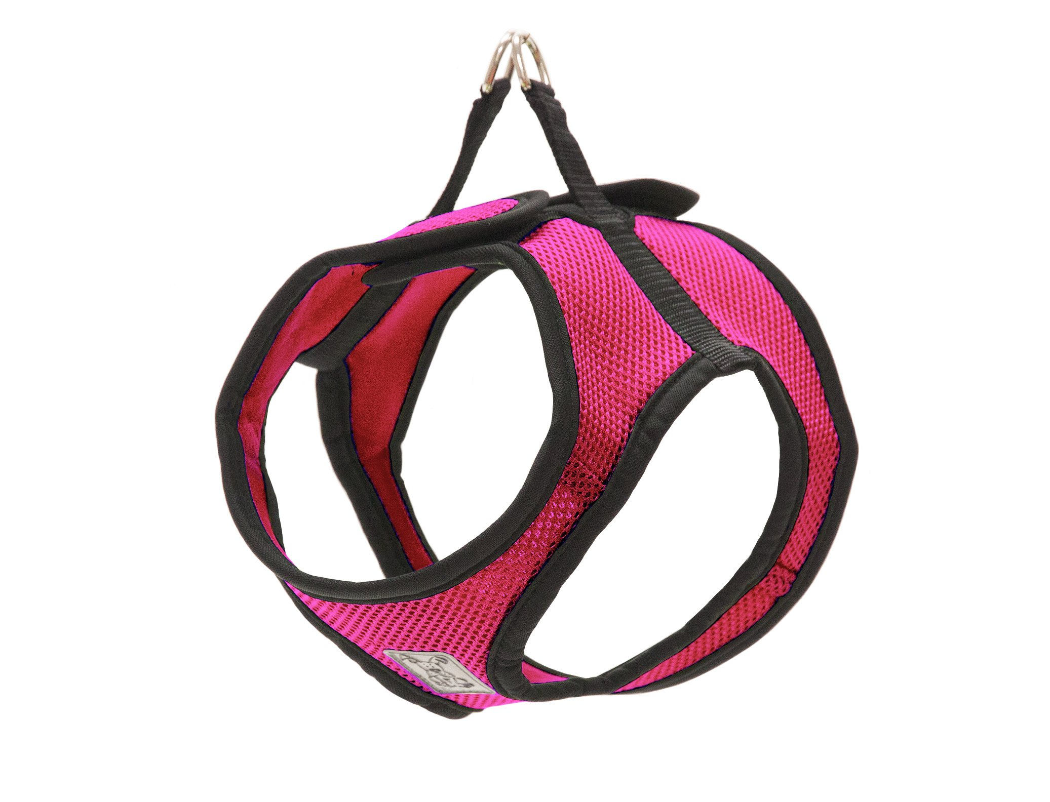 RC Pet Products Step in Cirque Soft Walking Dog Harness, Small, Raspberry