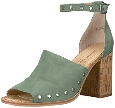 89a5da5829e Chinese Laundry Women s Savana Heeled Sandal Basil Leather 10 ...