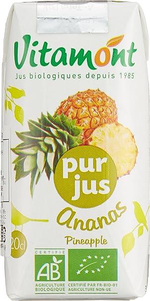 ヴィタモント 有機パインアップルジュース(100%ストレートジュース) 1ケース(24本入り)