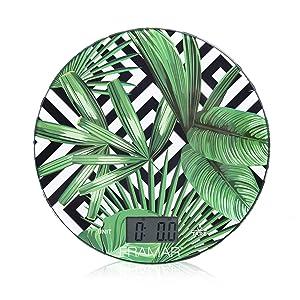 Framar Multifunctional Digital Scale and Kitchen Scale, Gram Scale, Weighing Scale – Digital Food Scale – Elegant Leaf design
