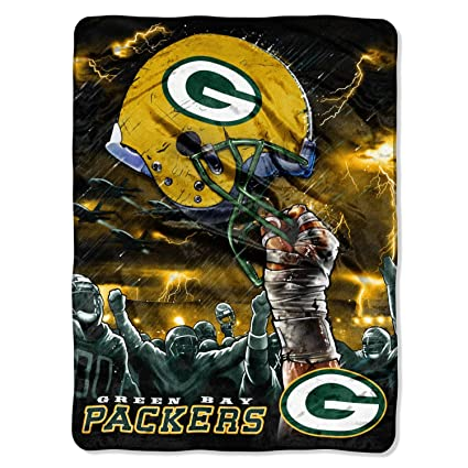 Amazon Green Bay Packers Supersized Supersoft Royal Plush Simple Green Bay Packers Throw Blanket