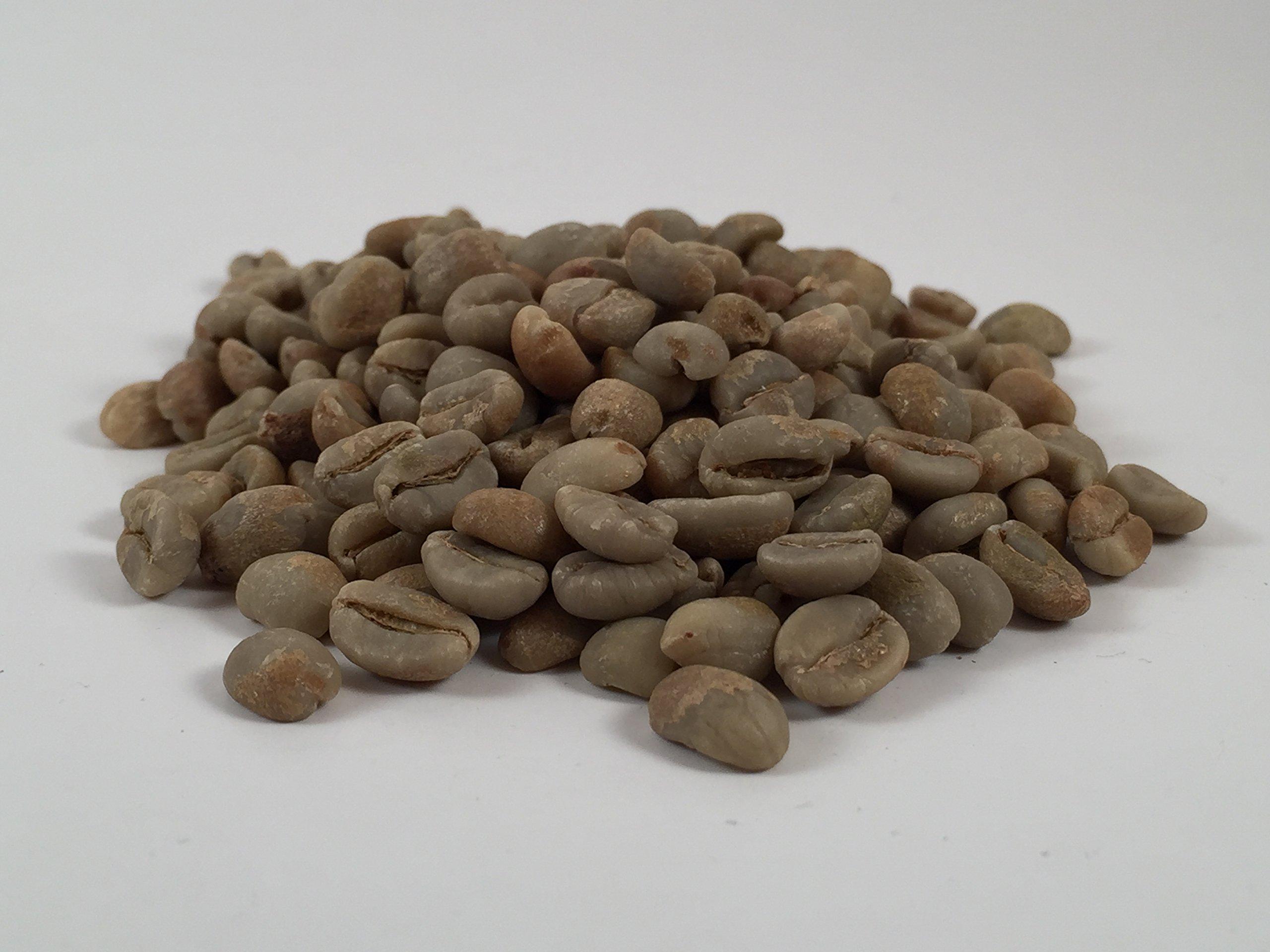 100% Ethiopia Geisha Unroasted Green Coffee Beans 2lbs Bag Gesha