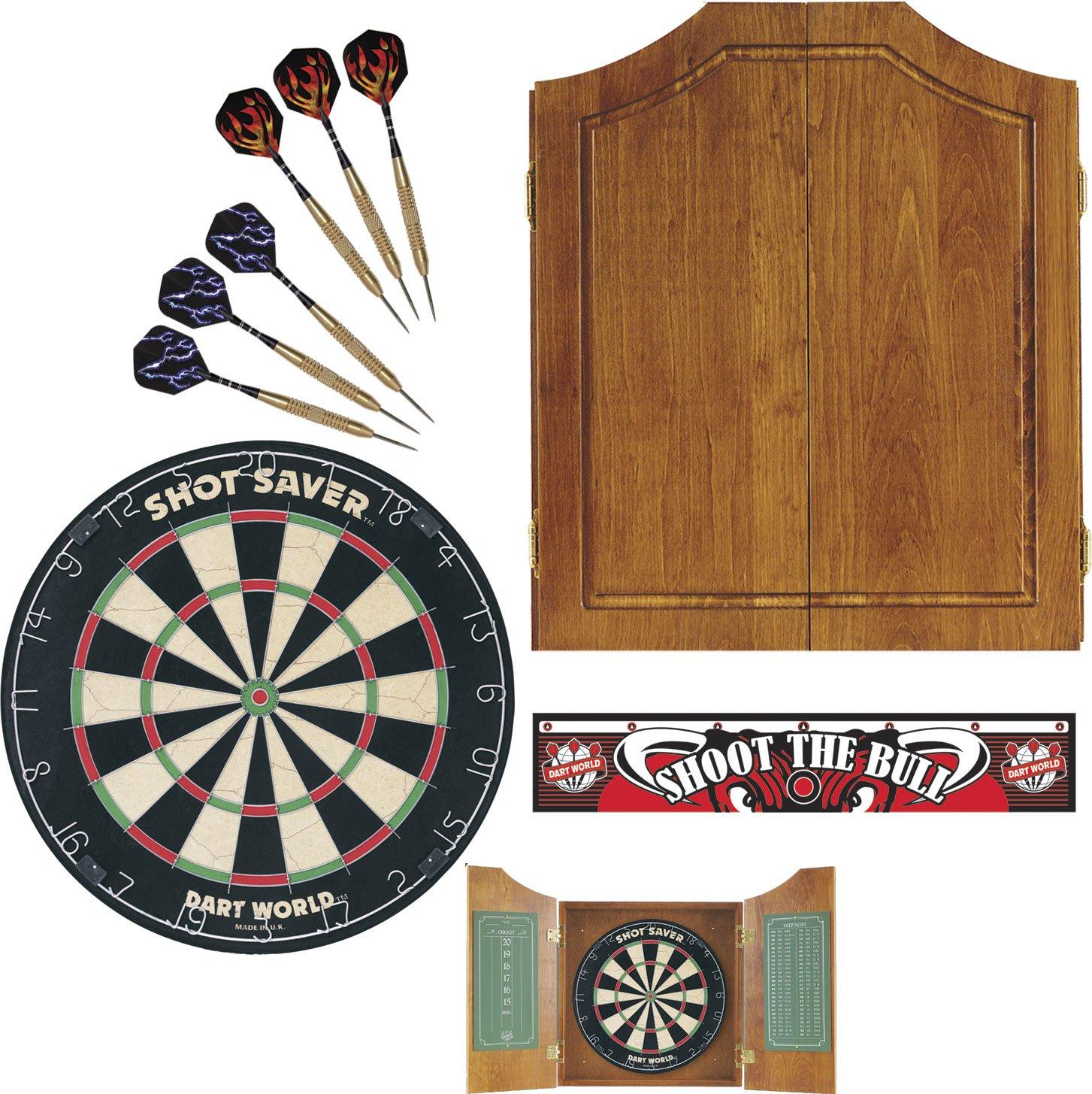 Amazon.com : Dart World 49126 Early American Dart Cabinet Kit ...