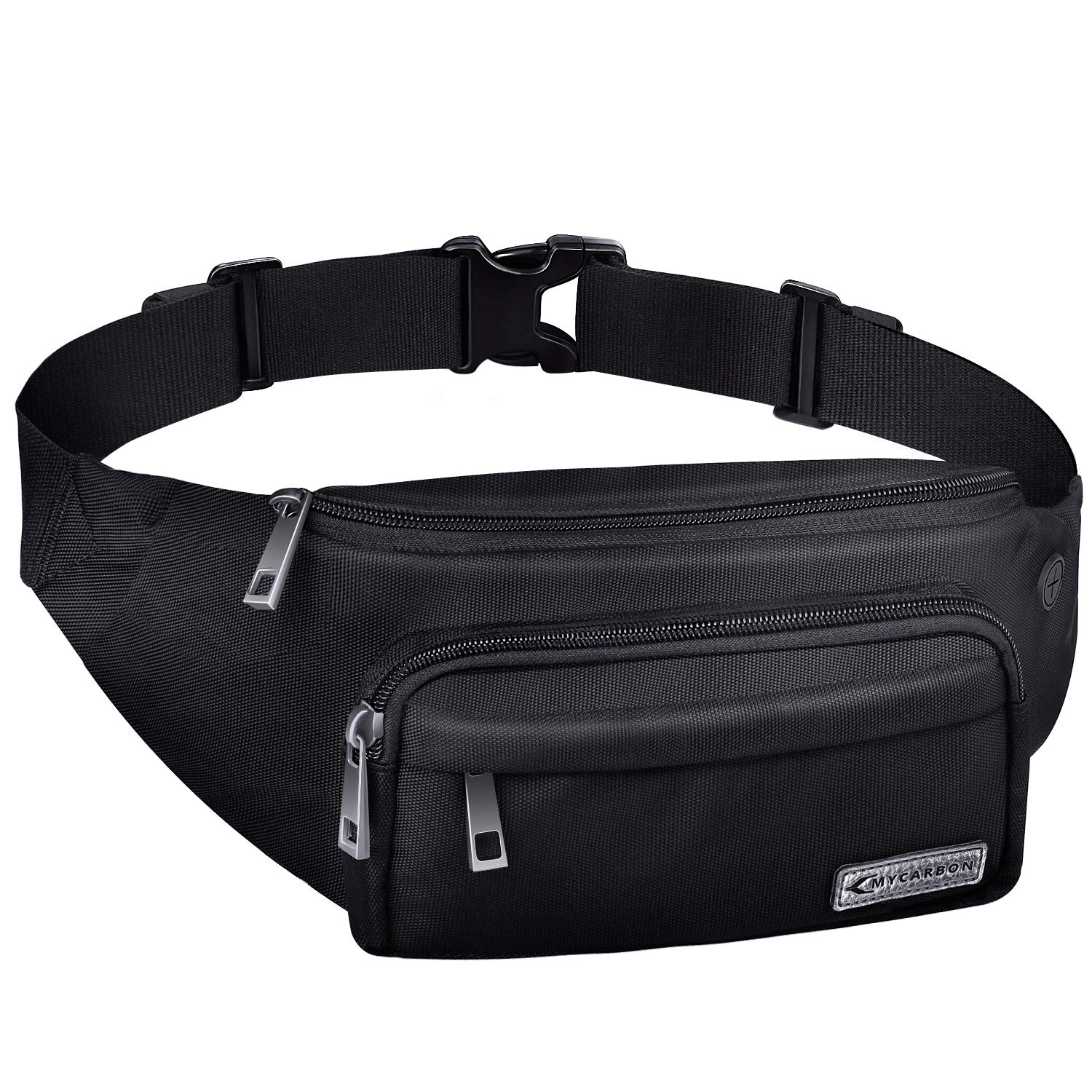 5f3f38a8d4778 MYCARBON Bum Bag Large Capacity,Non-bounce Travel Waist Pack,Non-slip  Cotton Belt Waist Bag for Women Men,Durable Waist Pouch Belt Bag for ...