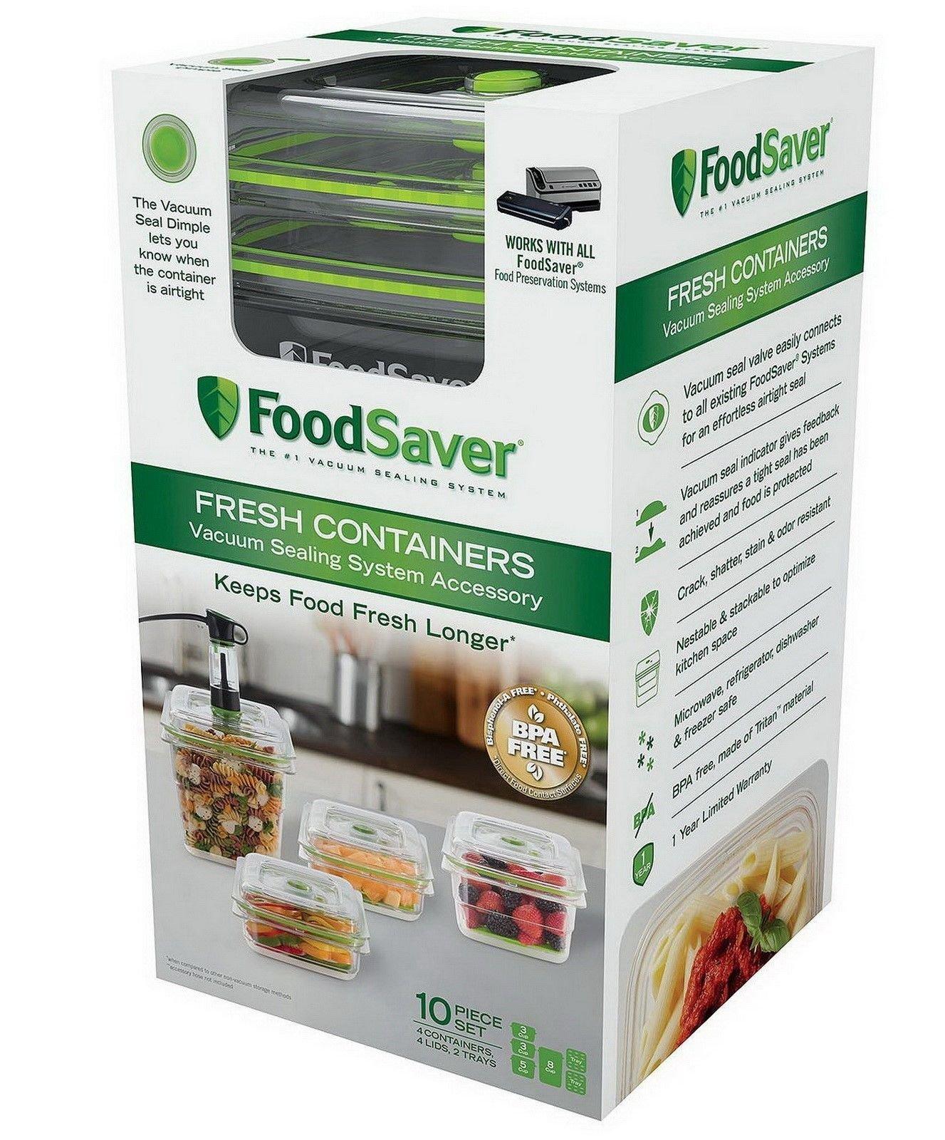FoodSaver B0757P77KR 1 Clear