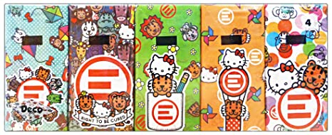 Hello Kitty Accessori Bagno.Set 24 World Cart Fazzoletti 10x9 Hello Kitty Accessori