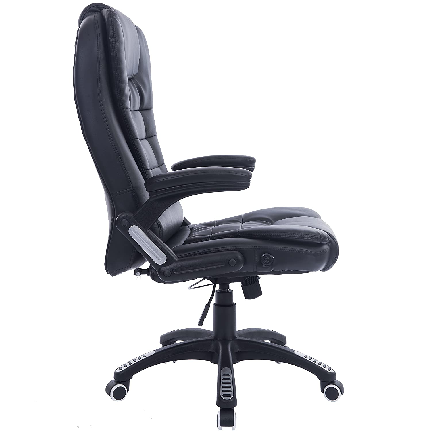 Executive Recline Extra Padded fice Chair Standard Black