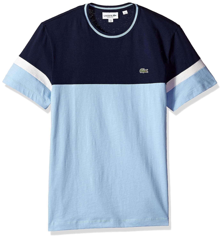 5b3461ff Lacoste Men's S/S Colorblock Jersey T-Shirt | Amazon.com