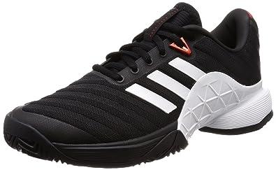 Noir Adidas Tennis Chaussures Garçon De Barricade 2018 negbás wTATqxvYg
