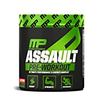 MusclePharm Assault Pre-Workout Powder, Pre-Workout Creatine for Energy, Focus,...