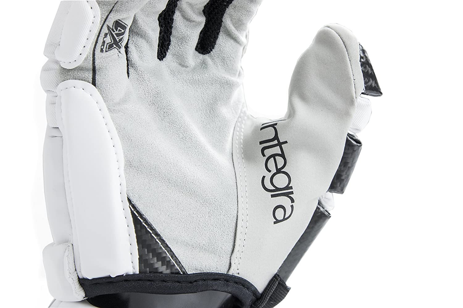 Middie and Defensemen Epoch Lacrosse Integra High Perfomance Lacrosse Gloves with Phase Change Technology Real Carbon Thumb for Attack