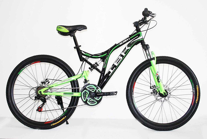 IBK - Bicicleta de montaña de 24 pulgadas con doble suspensión, 21 ...