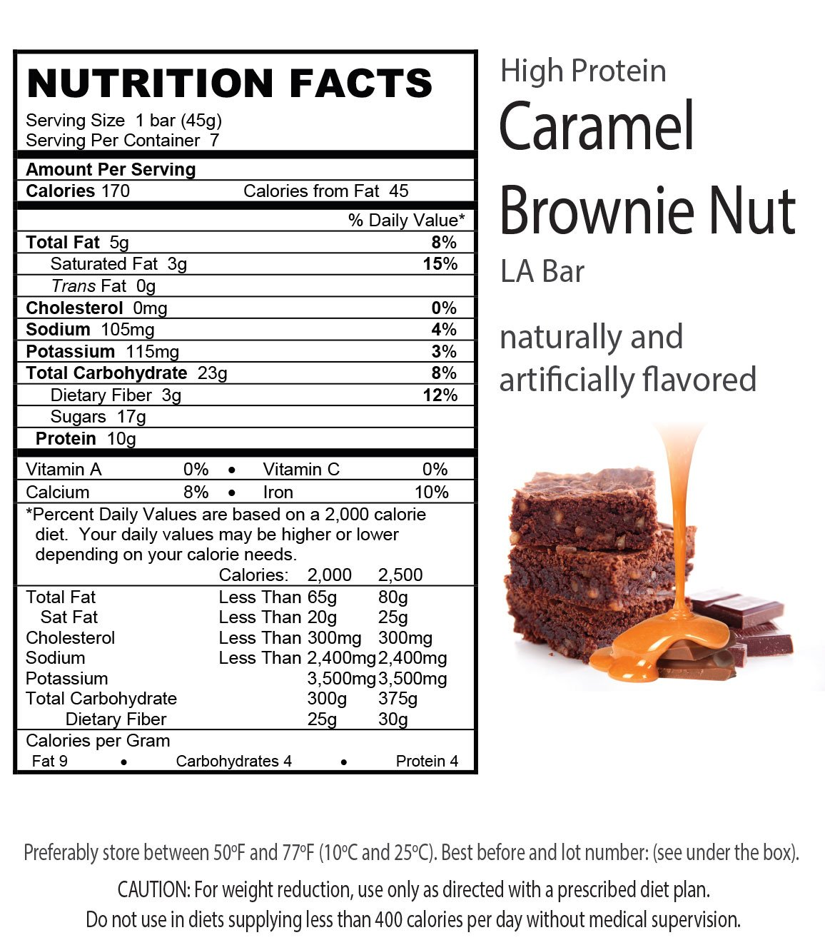 LA Weight Loss Combo - LA Bars & TakeOff Cleanse (PB & Caramel Brownie) by L A Weight Loss & Wellness (Image #5)