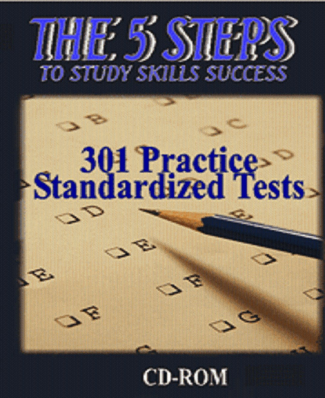 The 5 Steps - 301 Practice Standardized Tests (DVD)