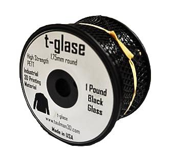1.75mm Taulman Black T-Glase