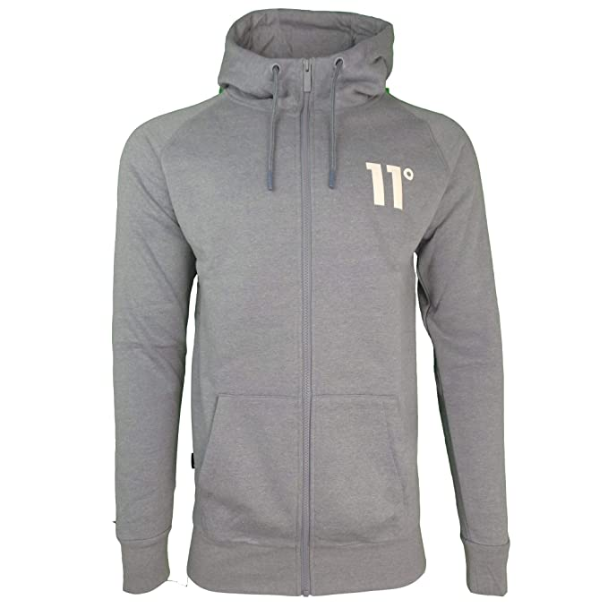 11º Chaqueta Gris Eleven Degrees XL: Amazon.es: Ropa y ...