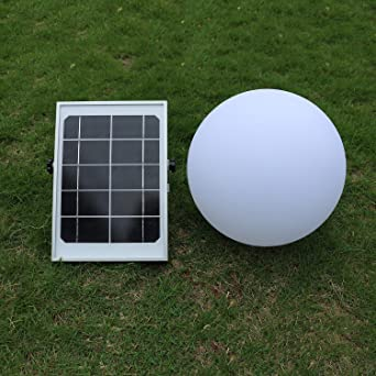 xinye Solar pelota luz LED 7 Color Changer exterior impermeable ...