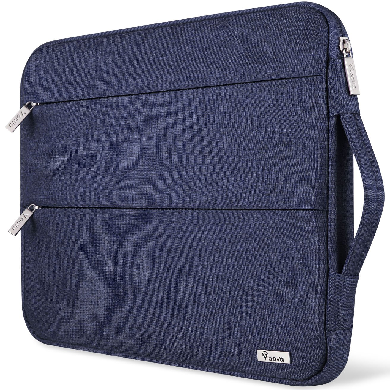 Voova 11 11.6 12 Inch Laptop Sleeve Case Cover, Water Resistant Computer Protective Bag Compatible with MacBook Air 11, Mac 12, Surface Pro 6 5 4 3, Acer Asus Chromebook Ultrabook with Handle, Blue by Voova