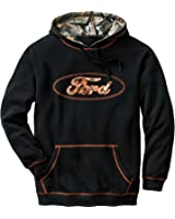 Legendary Whitetails Mens Trucked Up Big Game Camo Hoodie