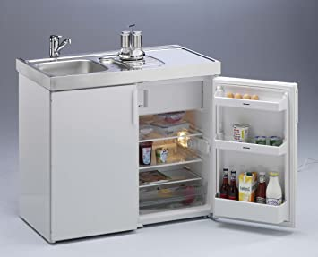Kompaktküche Singleküche Mini-Küche Büroküche Kleinküche Teepantry ... | {Singleküche miniküche 32}