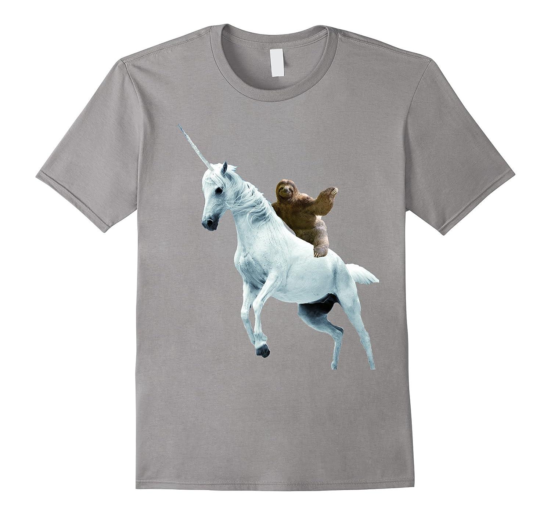 2adddaf2ee19 Unicorn Sloth T Shirt Design- Funny Animal T Shirt-RT – Rateeshirt