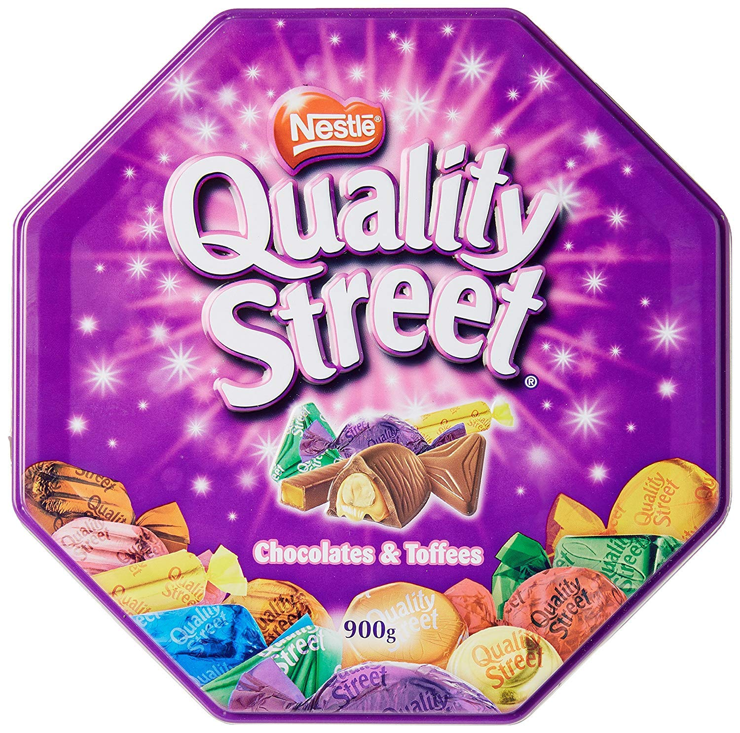 Nestle Quality Street Chocolates, 900 GM (Assorted, Pack - 2) by Nestle