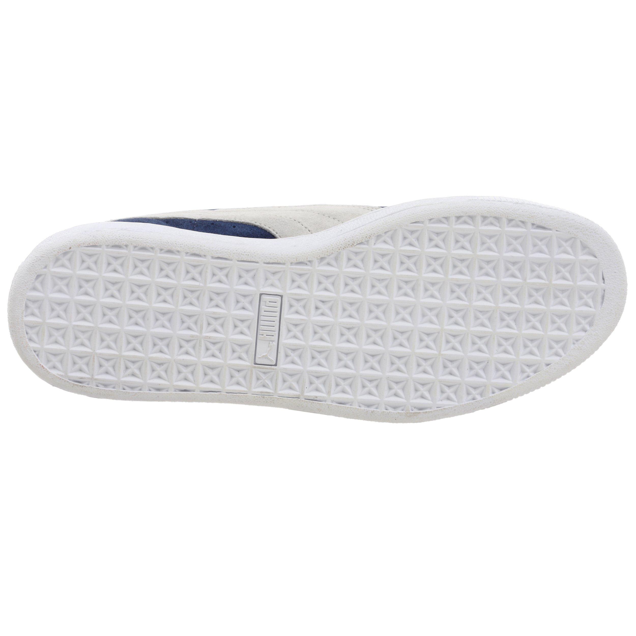 PUMA Suede Classic Sneaker,Blue/White,8 M US Men's by PUMA (Image #3)
