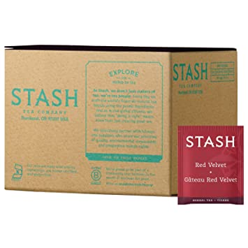 Stash Tea Té de hierbas, 100 Conde Caja de bolsas de té en ...