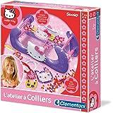 Clementoni-62166-Loisir Créatif-Hello Kitty- L'atelier a colliers