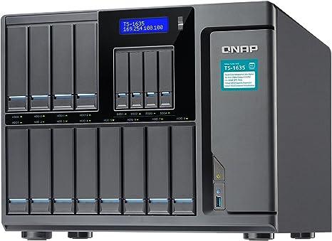 QNAP TS-1635 NAS Escritorio Ethernet Negro - Unidad Raid (Unidad ...