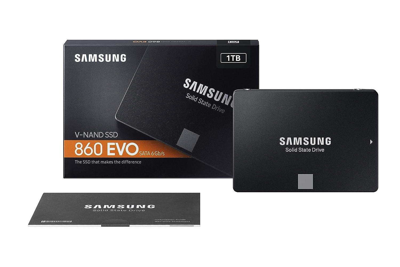 Samsung SSD 860 EVO 1TB 25 Inch SATA III Internal SSD MZ76E1T0BAM