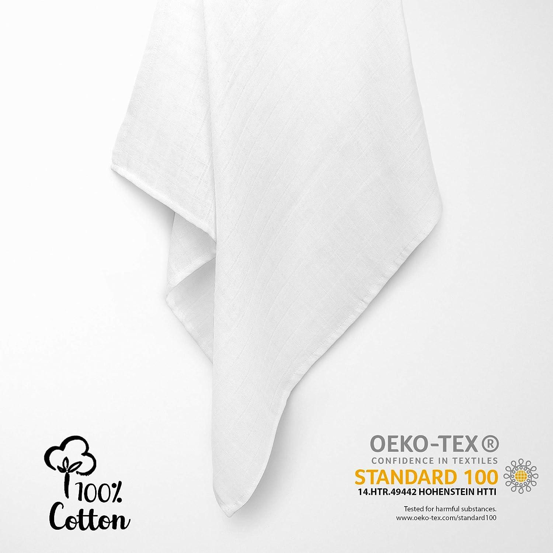 20 tissu Couches coloré tissu couche mullwindeln spucktuch pur coton 70x80 CM