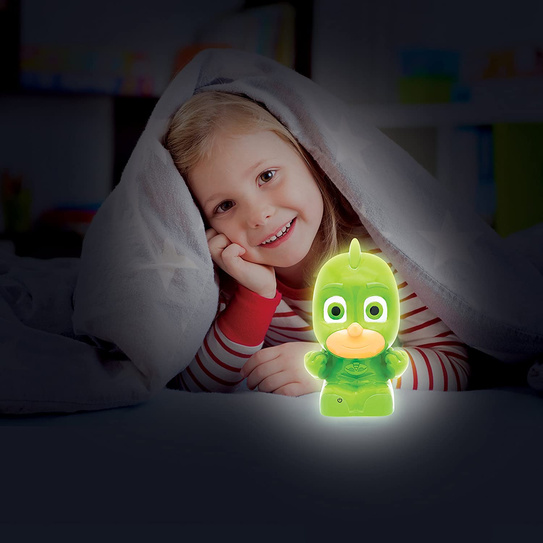 Amazon.com: Basic Fun PJ Masks Night Light - Gekko - Soft and Portable Light-Up Toy: Toys & Games