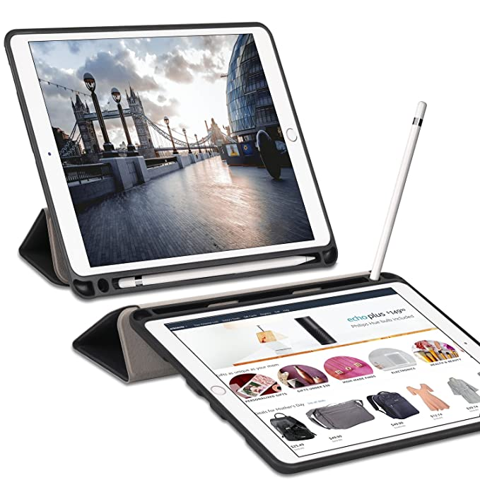 70 opinioni per Ztotop Custodia per iPad PRO 10.5 con portamatite, Custodia Smart Cover