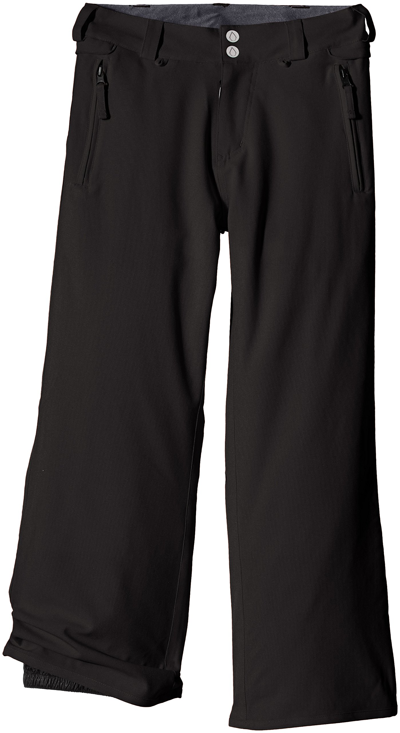 Volcom Big Boys' Grimshaw Insulated Pant, Black, Large