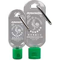 Sriracha Keychain Combo Pack (50ml and 30ml, Sauce Not Included)