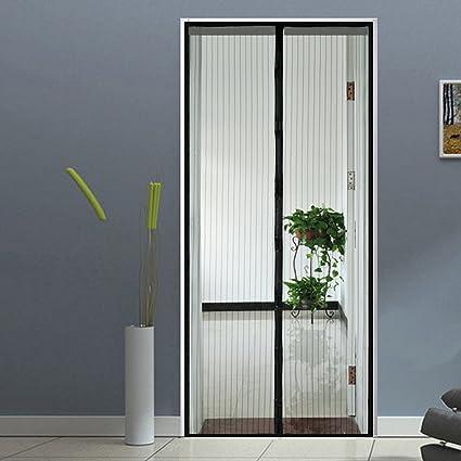 Attractive Homdox Magnetic Screen Door Retractable Heavy Duty Mesh Doors With Premium Mesh  Screen Curtain And Full