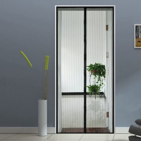 Homdox Magnetic Screen Door Retractable Heavy Duty Mesh Doors with Premium Mesh Screen Curtain and Full & Amazon.com: Homdox Magnetic Screen Door Retractable Heavy Duty Mesh ...