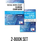Social Work ASWB Clinical Exam Guide and Practice Test, Second Edition Set - Includes a Comprehensive Study Guide and…