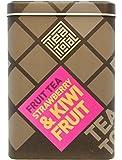 Tea total (ティートータル) / ストロベリー & キウイ 100g入り缶タイプ ニュージーランド産 (フルーツティー / フレーバーティー / ノンカフェイン / ドライフルーツ) 【並行輸入品】