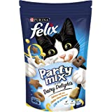 Felix Party Mix Dairy Delight Cat Treats, 60g