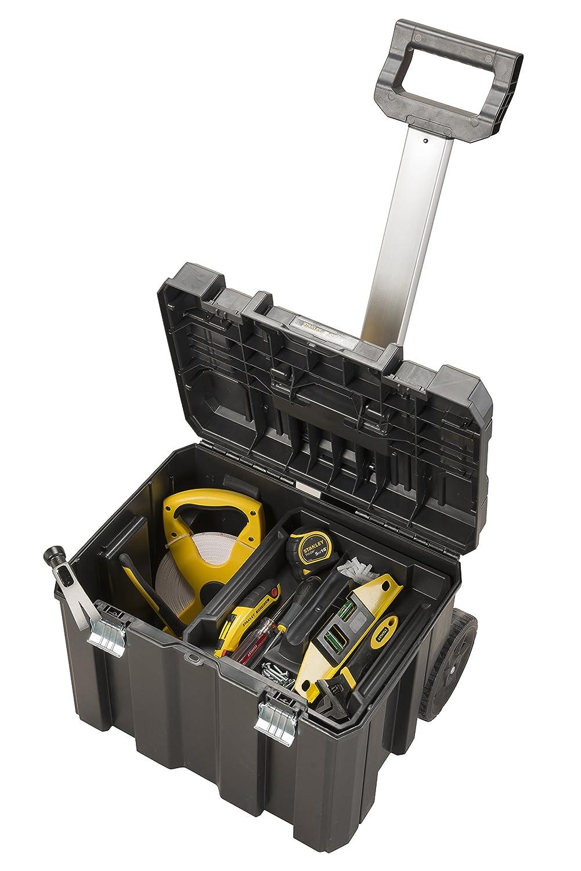 STANLEY FMST1-75753 - Caja de almacenamiento móvil TSTAK, capacidad 30 Kg: Amazon.es: Bricolaje y herramientas