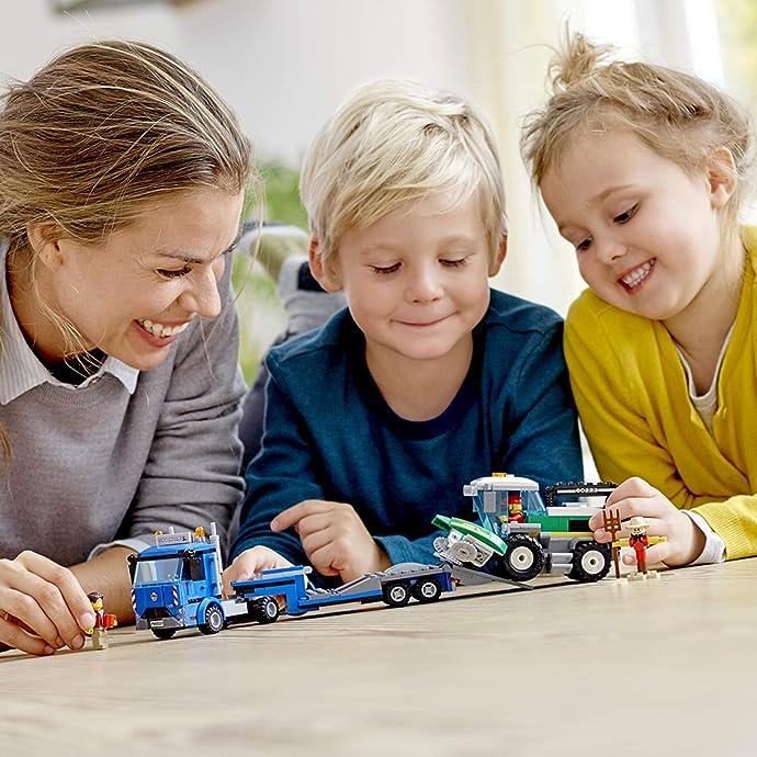 LEGO 乐高 City 城市组系列 收割机运输车 积木玩具 60223 优惠券折后$16.79史低 海淘转运到手约¥160