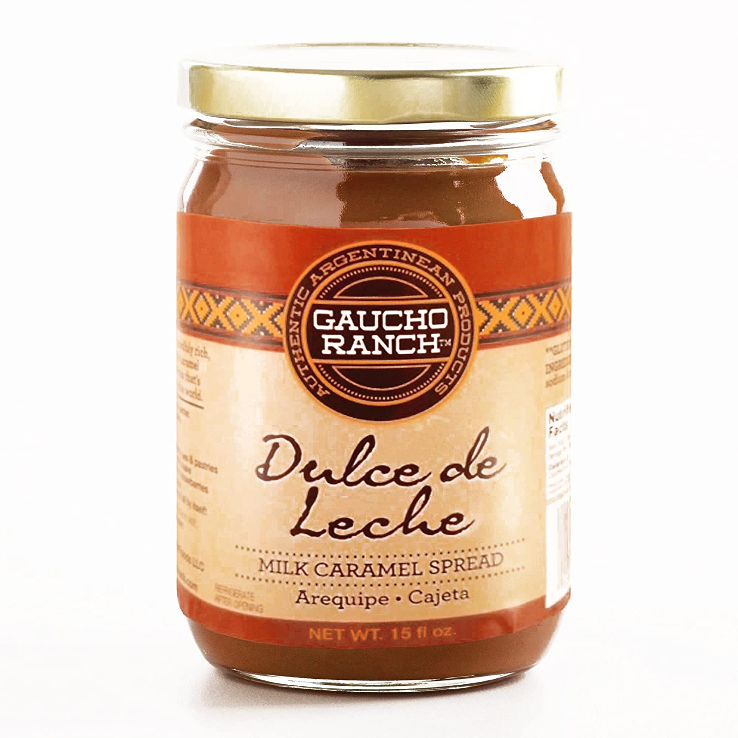 Amazon.com : Gaucho Ranch Dulce de Leche 15 oz each (4 Items Per Order, not per case) : Grocery & Gourmet Food