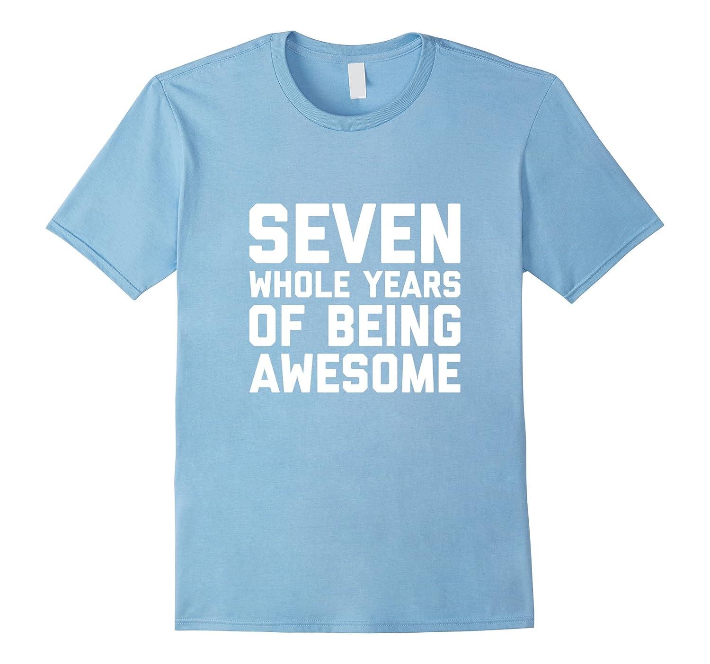 7th Birthday Shirt Gift Age 7 Year Old Boy Girl Tshirt Tee Ah My