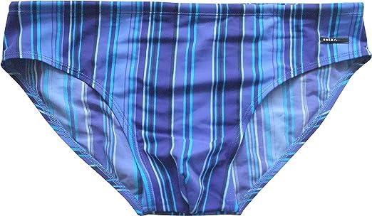 colore Blu Solar Tan Thru G3199 Slip da bagno