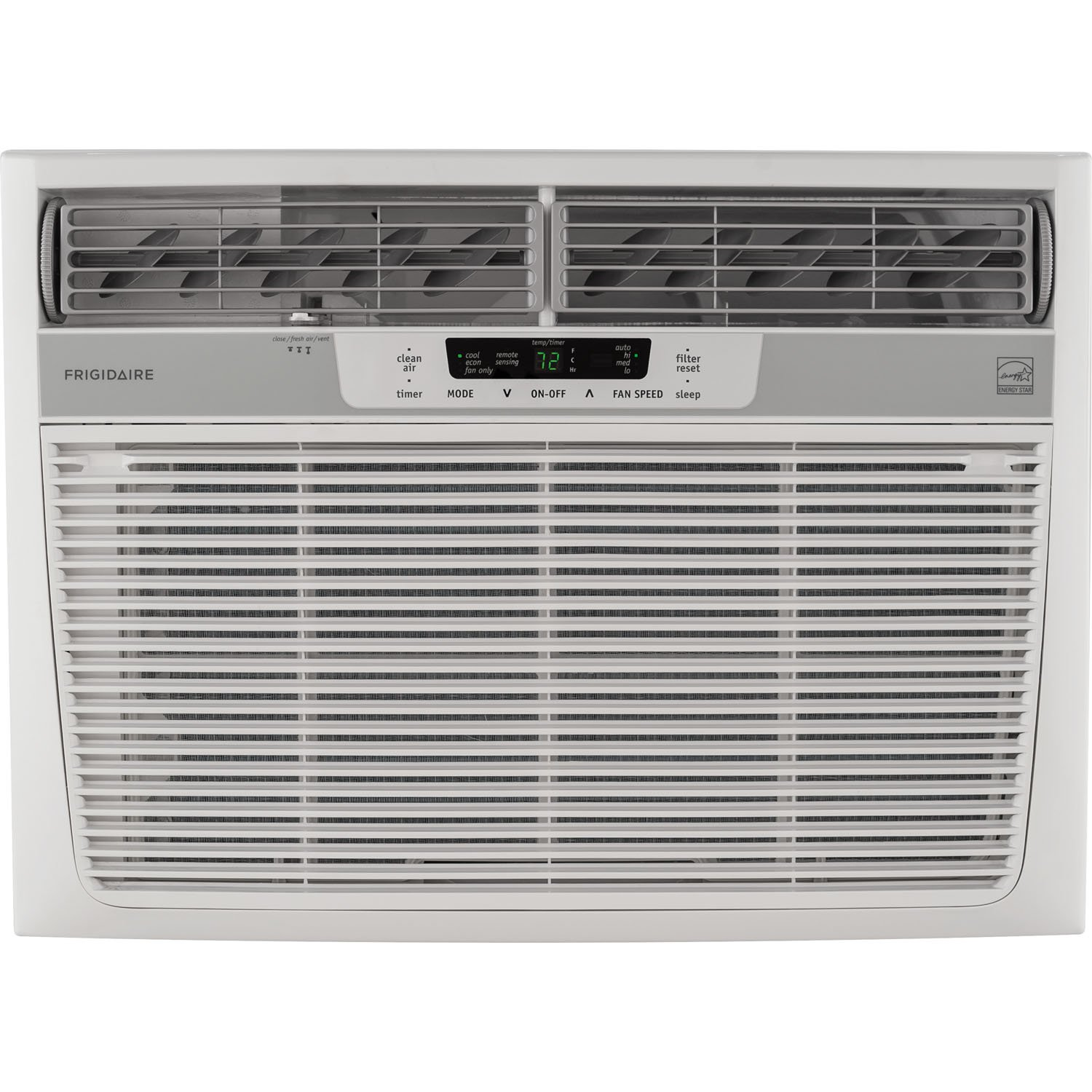 Frigidaire 15,100 BTU 115V Window-Mounted Median Air Conditioner with Temperature Sensing Remote Control