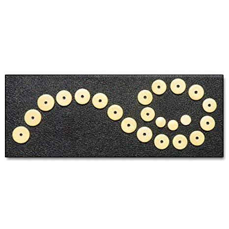 22 Zapatillas para Flauta Traversa en Doble Piel Soundman® Juego Universal Zapatilla 22 pcs
